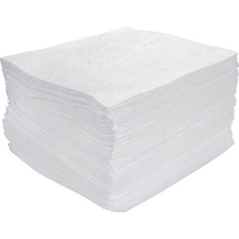 Meltblown Sorbent Pads - Light Weight - Absorbency/Pkg.: 30 Gallons