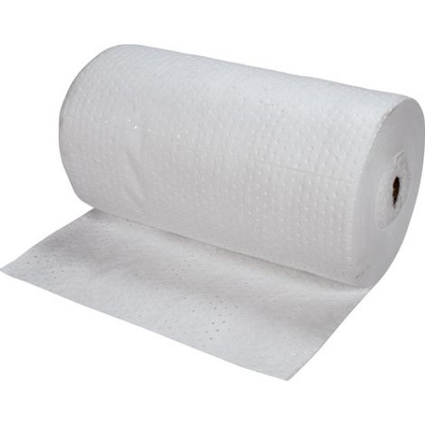 Bonded Sorbent Rolls - Oil Only - Weight: Light - Absorbency/Pkg.: 55 Gallons
