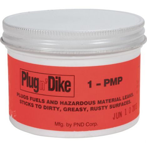Plug N'Dike® Sealants - Type: Paste - Net Weight/Volume: 1 lbs.