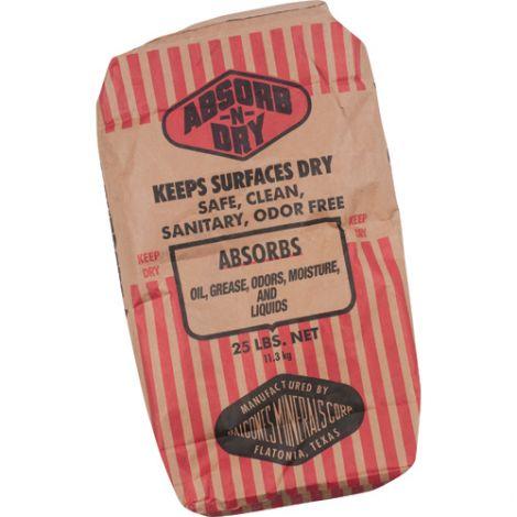 Absorb-N-Dry® Absorbent - Format: 25-lb. Bag