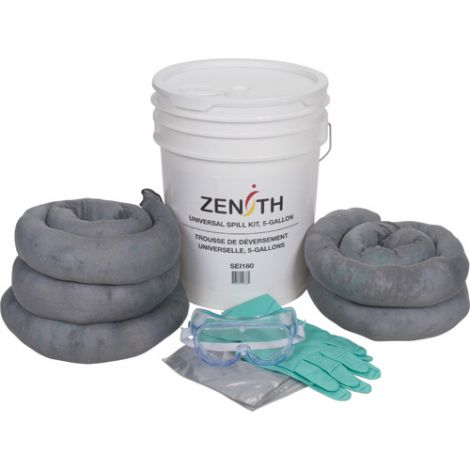 5-Gallon Spill Kits - Spill Type: Universal
