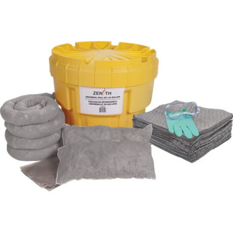20-Gallon Spill Kit - Spill Type: Universal
