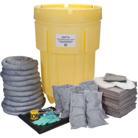 95-Gallon Shop Spill Kits - Spill Type: Universal