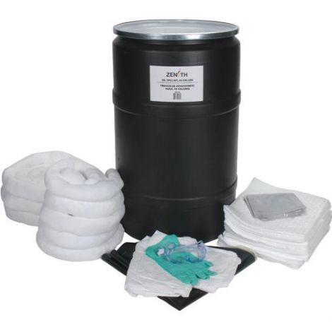 55-Gallon Spill Kits - Spill Type: Oil Only