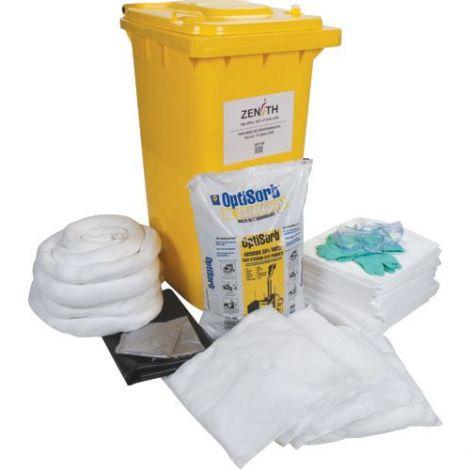 63-Gallon Mobile Spill Kits - Spill Type: Oil Only