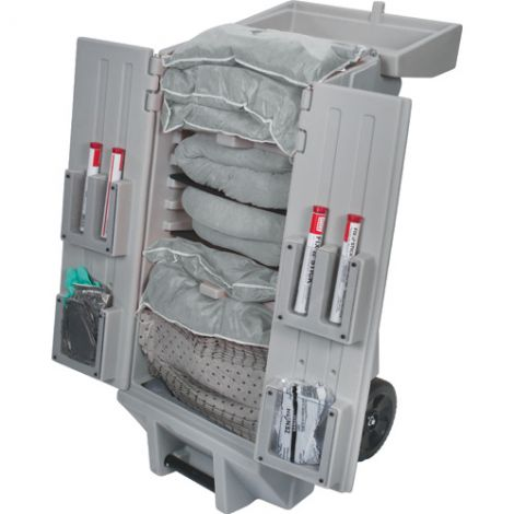 30-Gallon Tool Kaddie Mobile Spill Kits - Spill Type: Universal