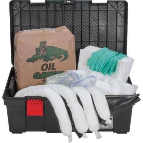 31-Gallon Tool Box Spill Kits - - Spill Type: Oil only