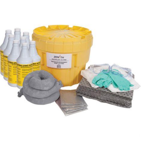 20-Gallon Acid Spill Kits - Spill Type: Acid