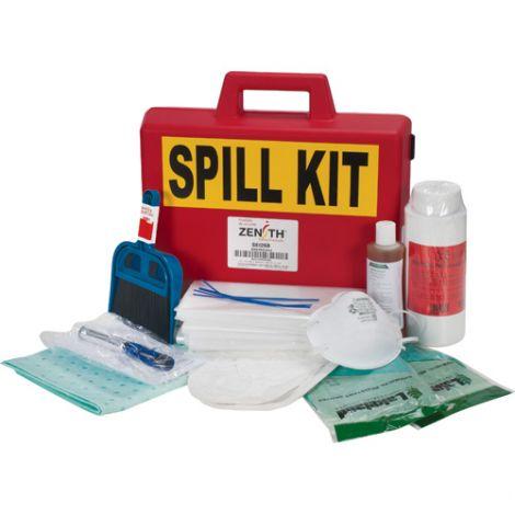 50-ml Mercury Spill Kits - Spill Type: Hazmat