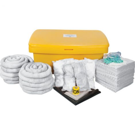 97-Gallon Mobile Spill Kits - Spill Type: Oil Only