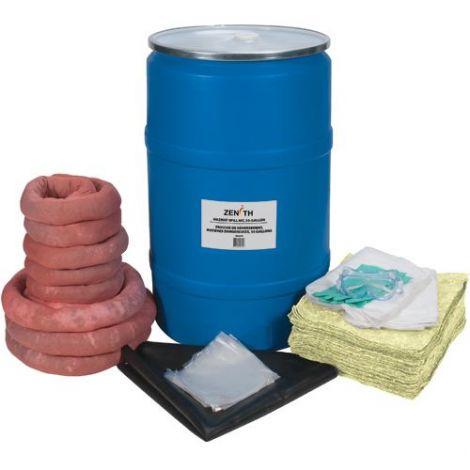 55-Gallon Eco-Friendly Spill Kits - Spill Type: Hazmat
