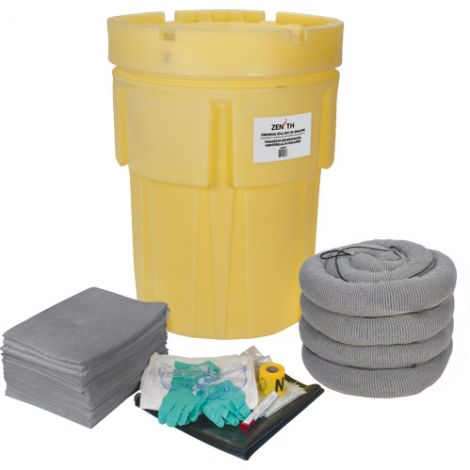 95-Gallon Economy Spill Kits - Spill Type: Universal