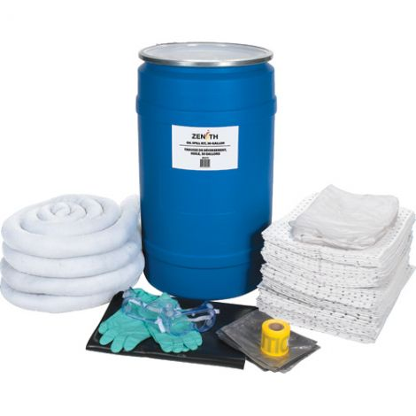 30-Gallon Spill Kits - Spill Type: Oil Only