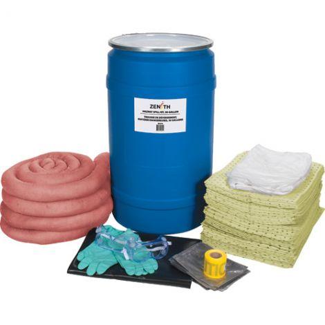 30-Gallon Spill Kits - Spill Type: Hazmat