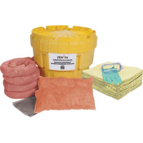20-Gallon Spill Kits - Spill Type: Hazmat