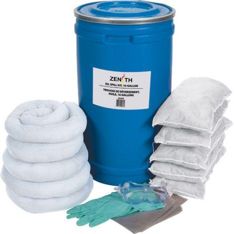 16-Gallon Spill Kits - Spill Type: Oil Only