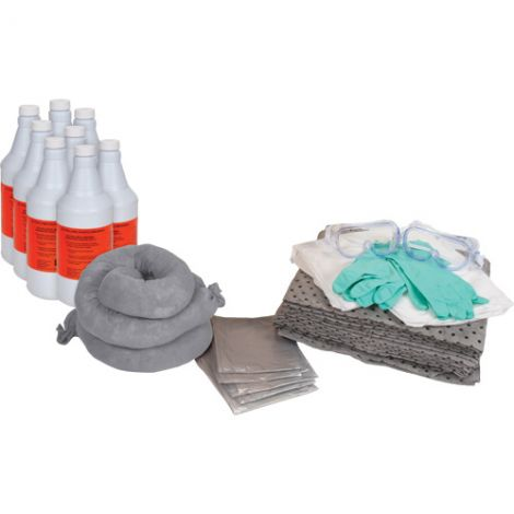 20-Gallon Acid Replacement Kits - Spill Type: Acid