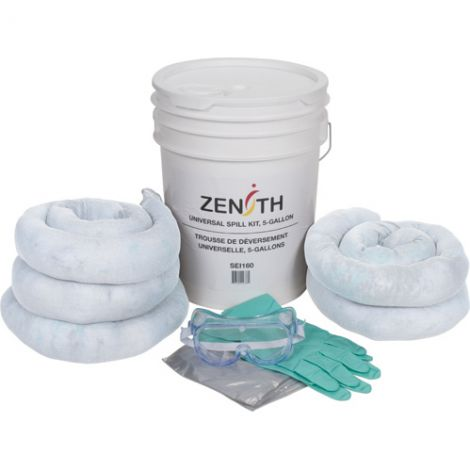 5-Gallon Spill Kits - Spill Type: Oil only - Case/Qty: 2