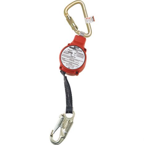 MiniLite™ Fall Limiters - Harness Connection: Hook - Anchorage Connection: Twist Lock Carabiner and Swivel Shackle