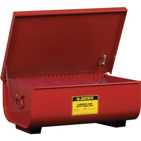 "Steel Bench Top Rinse Tanks - Capacity: 22 gal. - Overall: 12""H x 35-1/4""W x 12""D"