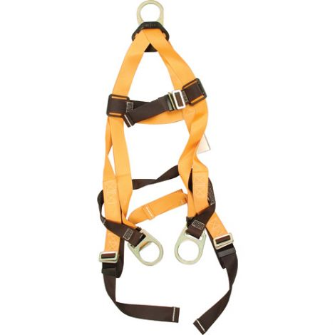 Titan™ Contractor's Harnesses - D-Ring: Back and Side - Shoulder Connections: Mating - Leg Connections: Mating - Chest Connections: Mating