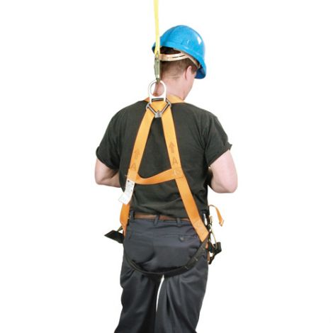 Titan™ Contractor's Harnesses - D-Ring: Back and Side - Shoulder Connections: Tongue Buckle - Leg Connections: Mating - Chest Connections: Mating
