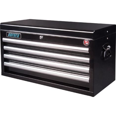 """ATB300 Tool Chest - No. of Drawers: 4 - Colour: Black - Overall Depth: 12"""" - Overall Width: 27"""""""