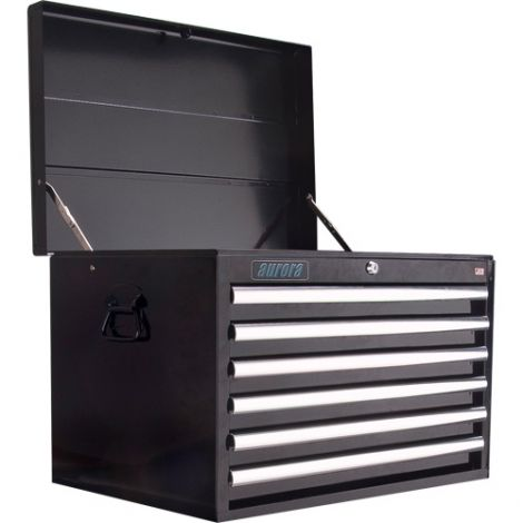 """ATB300 Tool Chest - No. of Drawers: 6 - Colour: Black - Overall Depth: 18"""" - Overall Width: 27"""""""