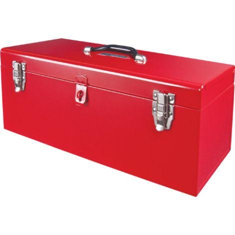 "ATB100 21"" Portable Tool Box w/ Metal Tool Tray - Overall Dimensions: 21""L x 8 3/4""W x 9""H - Case/Qty: 2"