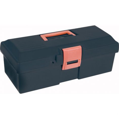 "Heavy-Duty Tool Boxes - Overall Depth: 7"" - Overall Height: 5-1/2"" - Overall Width: 15"" - Colour: Black"