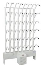 Wall Mount 24 Pair Boot Dryer - Streams Ambient or Warmed Air