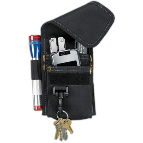 Multi-Purpose Tool Holders - Material: Nylon - Colour: Black - No. of Pockets: 4 - Style: Multiple Tool Holder