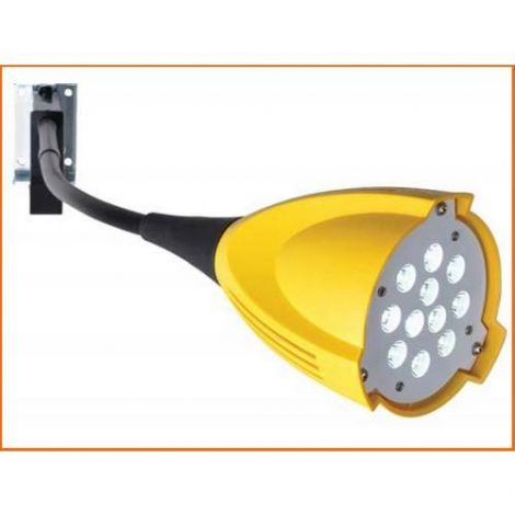 LED Dock Lights - Head Type: Polycarbonate - No. of Arms: 1 - Lamp Type: LED