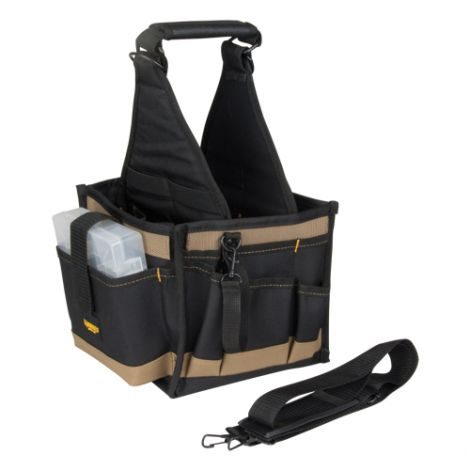 Canvas 28-Pocket Electrical & Maintenance Tool Pouch - Case/Qty: 2