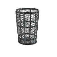 Street Baskets - Capacity: 45 US gal. - Colour: Black