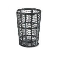 Street Baskets - Capacity: 45 US gal. - Colour: Black