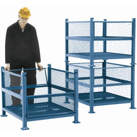 Open Mesh Containers - Capacity: 2500 lbs.