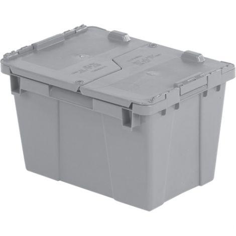 "Flipak® Polyethylene Plastic (PE) Distribution Containers - Outside Dimensions Top: 15.2""L x 10.9""W - Case/Qty: 4"