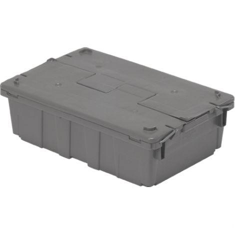 "Flipak® Polyethylene Plastic (PE) Distribution Containers - Outside Dimensions Top: 20.6""L x 13.5""W - Case/Qty: 3"