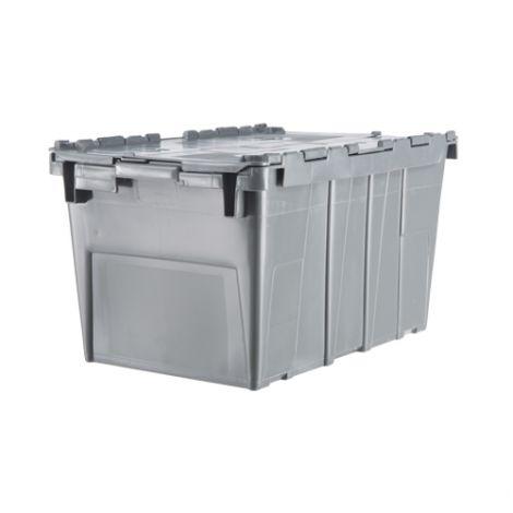 "Flipak® Polyethylene Plastic (PE) Distribution Containers - Outside Dimensions Top: 20.6""L x 13.2""W - Case/Qty: 3"