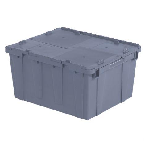 "Flipak® Polyethylene Plastic (PE) Distribution Containers -  Outside Dimensions Top: 23.9""L x 19.6""W - CaseQty: 3"