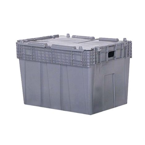 "Flipak® Polyethylene Plastic (PE) Distribution Containers - Outside Dimensions: 30.0""L x 22.0""W - Case/Qty: 1"