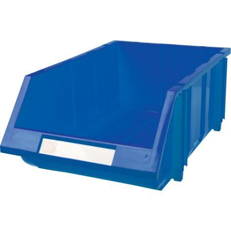 """Hi-Stak Plastic Bin - 11 3/16""""W x 17 11/16""""D x 7""""H - Case/Qty: 8"""