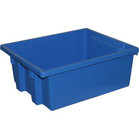 Stack-N-Nest® Storage Bins - Colour: Blue - Case/Qty: 8