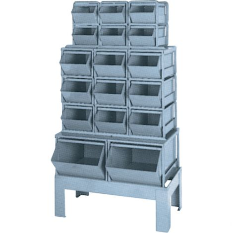 Pre-Engineered Bin Combination - 17-Compartment System