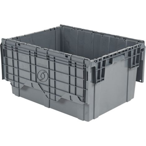 "Flipak® Polyethylene Plastic (PE) Distribution Containers - Outside Dimensions Top: 39.0""L x 14.0""W - Case Qty: 2"