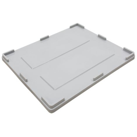 Collapsible Bulk Container Lid