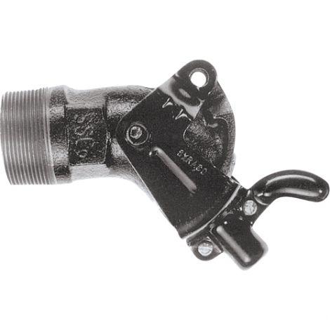 "Manual-Closing Molasses Gate Valves - NPT Inlet Size: 2"""
