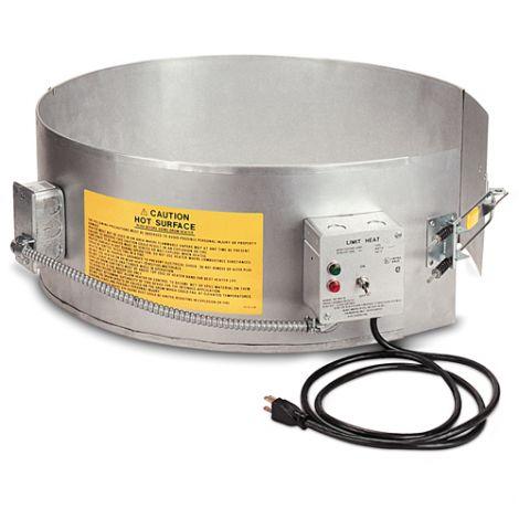 Plastic Drum Heaters - Fits Drum Size: 55 US gal (45.8 imp. Gal.)