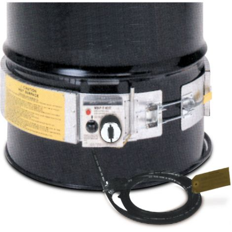Variable Cycle Control Heater - Fits Drum Size: 55 US gal (45.8 imp. Gal.) - Voltage: 120 V - Wattage: 3000 W